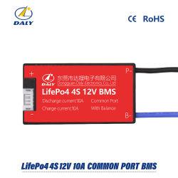 LiFePO4 4s 12V 10A 15 A 25 A 35A 45A BMS el sistema de gestión de la batería del PCM PCBA 18.650 Accesorios para batería de iones de litio 18650 con el equilibrio