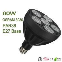 lampadina/indicatore luminoso/lampada dell'inondazione di PARITÀ PAR30 PAR38 di 60W LED Dimmable per monili/panno/al minuto/drogherie 30