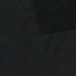 El Teñido de llanura cepillo Spandex Tejido de poliéster mezclado de tejer prendas de vestir