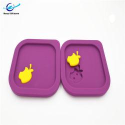 A FDA/LFGB Recipiente Alimentar estanques nítida tampa de silicone