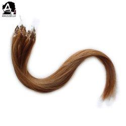أنجيلبيلا هوت المبيعات الدقيقة الشعر الدائري امتدادات 7# الشعر الصناعي الإنسان الرقم الداخلي