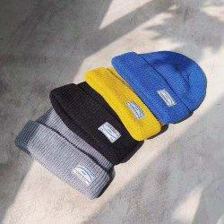 겨울 여성 큐트 맞춤형 걸 모자 럭셔리 진짜 모피 아크릴 니트 캡 비니 모자