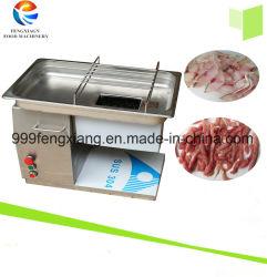 Pequeño eléctrico de uso doméstico, carne de cerdo fresca rebanada Cortadora, cortadora de carne