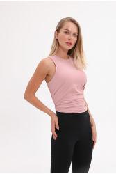 Nuevo diseño del Chaleco de mujer transpirable sueltas de ropa deportiva de Yoga deportivo casual