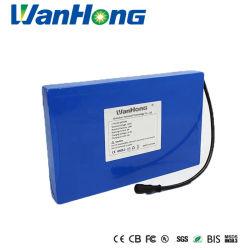 Batería de litio Large-Capacity 18650 12V 18Ah recargable de ion litio li-ion Battery Pack/batería de ciclo profundo para el cortacésped calle la luz solar UPS