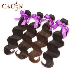 Completo de alta calidad Raw de la cutícula del cabello indio virgen sin procesar