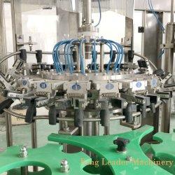フルオートマチックのガラスビンビール林冠が付いている液体のびん詰めにする充填機