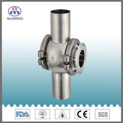Les mesures sanitaires soudés en acier inoxydable et serrés regard en verre Nm13038