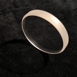 Durchmesser unterhalb Saphir-Kristall-Objektiv-optischen der Bauteile der 22.5mm Stärken-1mm rundes für Verkauf