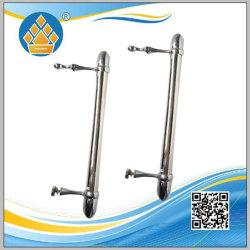 Commerce de gros de produits personnalisés porte de douche Salle de bains de poignée de porte en acier inoxydable