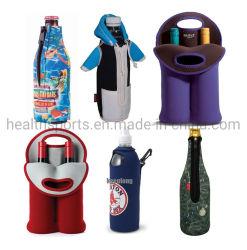Il neoprene promozionale può dispositivo di raffreddamento, il dispositivo di raffreddamento su ordinazione della bottiglia da birra del neoprene, il sacchetto del dispositivo di raffreddamento di vino, il neoprene tozzo Koozie del supporto