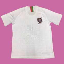 Camicia di calcio di gioco del calcio personalizzata sublimazione della tazza di mondo dell'uomo