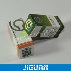 Flacon de pliage du papier de la médecine de l'impression 10ml Boîte en bois