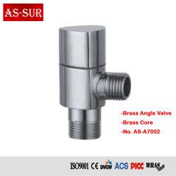 Valvola di angolo d'ottone del bicromato di potassio materiale dell'impianto idraulico A7002
