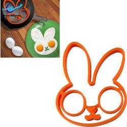 Fabrik-Kaninchen-Form-Silikon briet Ei-Ring-Backen-Pfannkuchen-Kuchen-Form