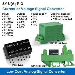 Faible coût Non-Isolation 0-20 mA/4-20 mA/0-5 V/0-10 V Convertisseurs de signaux analogiques/émetteurs