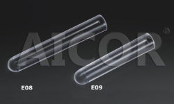 CER Approved 12*75mm Plastic Test Tube