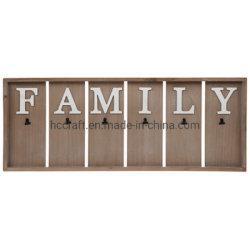 Scheda di legno con le clip, piastra della parete, scheda dell'appunto della plancia dell'appunto
