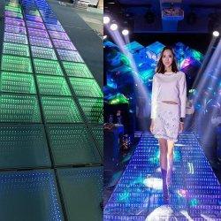 3D specchio LED Dance Floor per illuminazione di cerimonia nuziale, di esposizione, del randello e della discoteca