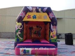 Mini aufblasbares Tinkerbell federnd Innenhaus für Kinder