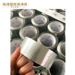 建築構造の防水のシールテープのためのアルミホイルのガラス繊維の布