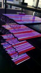Открытый линейный RGB DMX 24*с высокой мощностью 1 Вт Светодиодные настенные шайбу