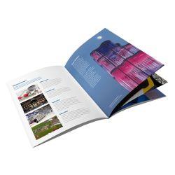 Directamente de fábrica de alta calidad de impresión de folleto personalizado de impresión de libros al por mayor para la empresa