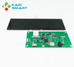 8.8 Polegada 1280*320 Bar do painel da tela de LCD TFT LCD Visores de navegação automóvel com HDMI Driver Board
