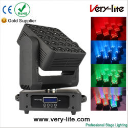 5*5 25HP 12W LED Matriz Movinghead Lavagem do feixe de luz na Discoteca