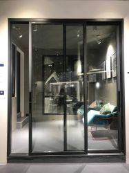 호리호리한 프레임 알루미늄 슬라이드 유리 안뜰 문 알루미늄 슬라이딩 윈도우 및 문