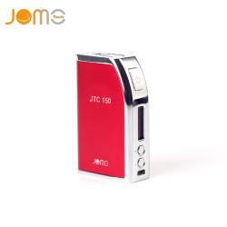 D'origine CASE Jtc 150W Mod énorme vaporisateur Kit Subohm Olcd Afficher VV VW Mod Mods Mod Ecig Cigarette électronique 4 couleurs Jomo-102