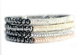 Xg-B0553 мода ювелирный кристалл проложить бар браслет (XG-B0553)