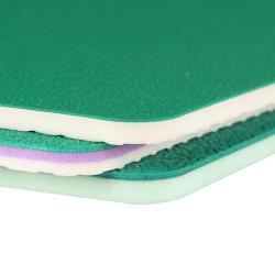 Ak uso interior personalizado Badminton cancha de deportes de tierra suelos PVC