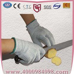 13guage Cut-Resistant Hhpe tricotés 3 de la sécurité des gants de protection du travail (coupe de niveau 3)