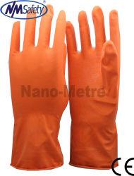 Handschoenen van de Hand van het Latex van het Huishouden van Nmsafety de Rubber/de Handschoenen van de Dame