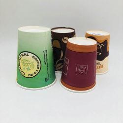 Hotsale hecho personalizado para llevar Café de vasos de papel desechables biodegradables