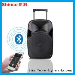 De draadloze Draagbare Correcte Doos USB/SD Iuput, de Vertoning van de Muziek van de FM Bluetooth MP3