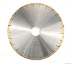 La lame de coupe humide Diamond la lame de scie de coupe de Marbre Granit