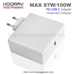 HP/Asus/DELL/LenovoのためのユニバーサルPdのタイプCのアダプター87W 90W 100Wの電源USB CのタイプC Pdの速い充電器AC DCのアダプター5V 9V 12V 15V 20V