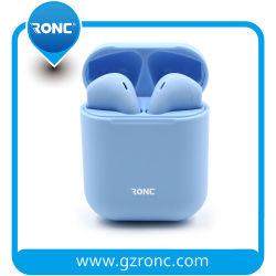 Горячая продажа V5.0 красочные I12 Tws гарнитуры Bluetooth Stereo True беспроводные наушники-вкладыши для наушников