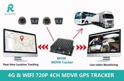 3G 4G 720p 1080P Cartões SD Rastreador GPS School Bus Veículo 4CH Blackbox Truck Car DVR Mdvr Sistema de Rastreamento de Câmera