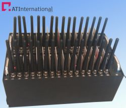 Hotselling! 32 портов модемного пула с MC55I поддерживают SMS и MMS, TCP/IP. 850/900/1800/1900Мгц