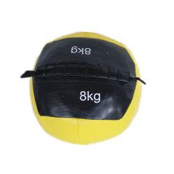 Parede Fitness Ball Couro Ginásio Fitness Equilíbrio Musculação Gravidade Bola Formação macio exercer medicina bolas13229 ESG