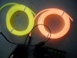 Эль-провод, EL провод освещения различных цветов и различных размеров