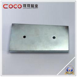 Custom Постоянный блок форма NdFeB магнит с утопленное отверстие