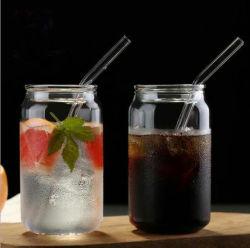 북유럽 창조적인 코크는 학생 유리제 국내 언 냉수 컵 고열 저항하는 우유 과일 차잔 큰 수용량 할 수 있다
