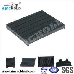 Haltbarer Buffer-Gummiauflagen für Gleis