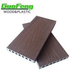 Platelage extérieur imperméable en plastique en bois plancher composite WPC Feuille