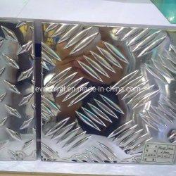3003 Stab geprägte Aluminiumplatte des kontrolleur-H22 fünf