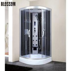 Masaje de lujo cabina de ducha Cmputer Pantalla para el cuarto de baño ducha de vidrio